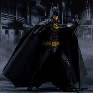 S.H. Figuarts Batman 1989 Michael Keaton Batman Action Figure PRE-ORDER