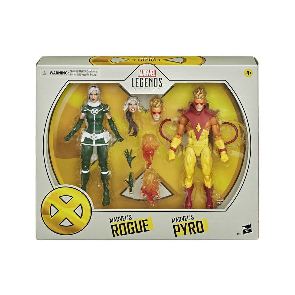 Marvel Legends X-Men Rogue & Pyro 6 inch Action Figure 2 Pack PRE-ORDER