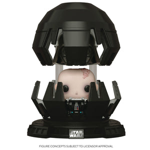 Star Wars Funko Pop! Deluxe 40th Anniversary The Empire Strikes Back Darth Vader in Meditation Chamber Figure