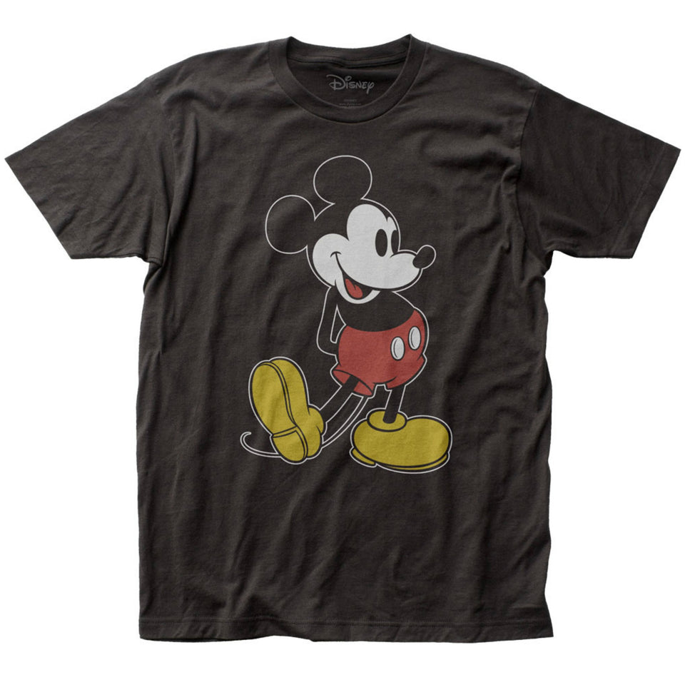 Disney Mickey Mouse Pose Black T-Shirt