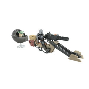 Star Wars Mission Fleet Expedition Class The Mandalorian The Child Battle for the Bounty 2.5 Inch Figures & Vehicle PRE-ORDER