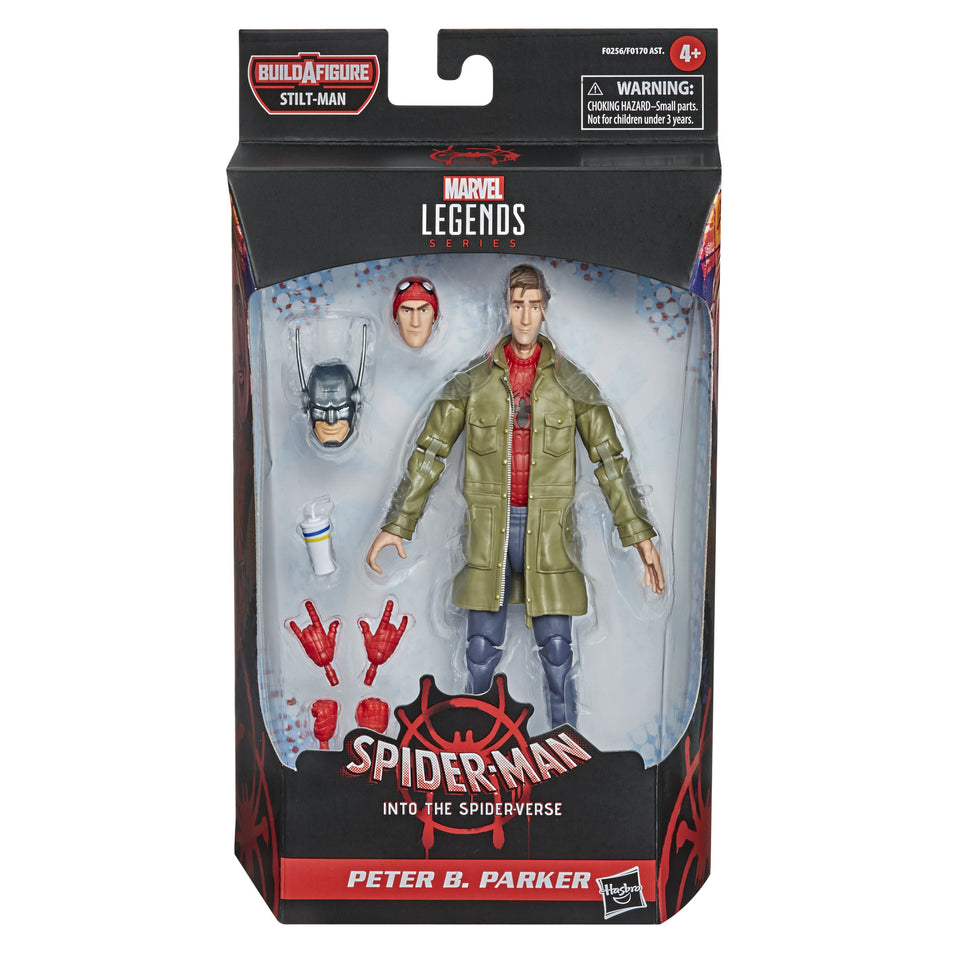 Marvel Legends Into the Spider-verse Peter B Parker 6 Inch Action Figure