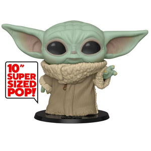 Funko Pop! The Mandalorian The Child Baby Yoda 10 Inch Figure