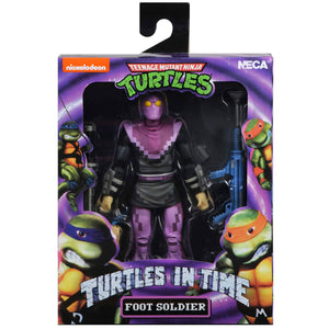 NECA TMNT Turtles in Time Foot Soldier 7 Inch Action Figure PRE-ORDER