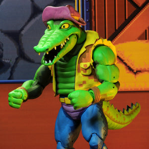 "NECA Teenage Mutant Ninja Turtles Turtles in Time Series 2 Leatherhead 7"" Action Figure PRE-ORDER"