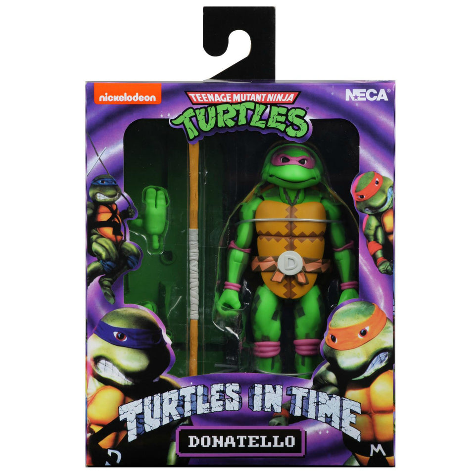 NECA TMNT Turtles in Time Series 1 Donatello 7 Inch Action Figures PRE-ORDER