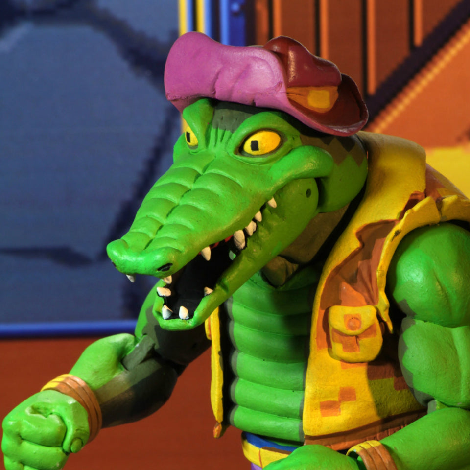 NECA TMNT Turtles in Time Series 2 Leatherhead 7 Inch Action Figure PRE-ORDER