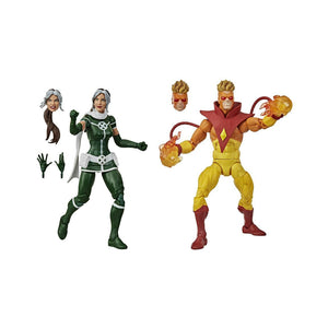 Marvel Legends X-Men Rogue & Pyro 6 inch Action Figure 2 Pack