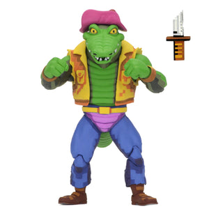 NECA Teenage Mutant Ninja Turtles Turtles in Time Series 2 Leatherhead 7 Inch Action Figure PRE-ORDER
