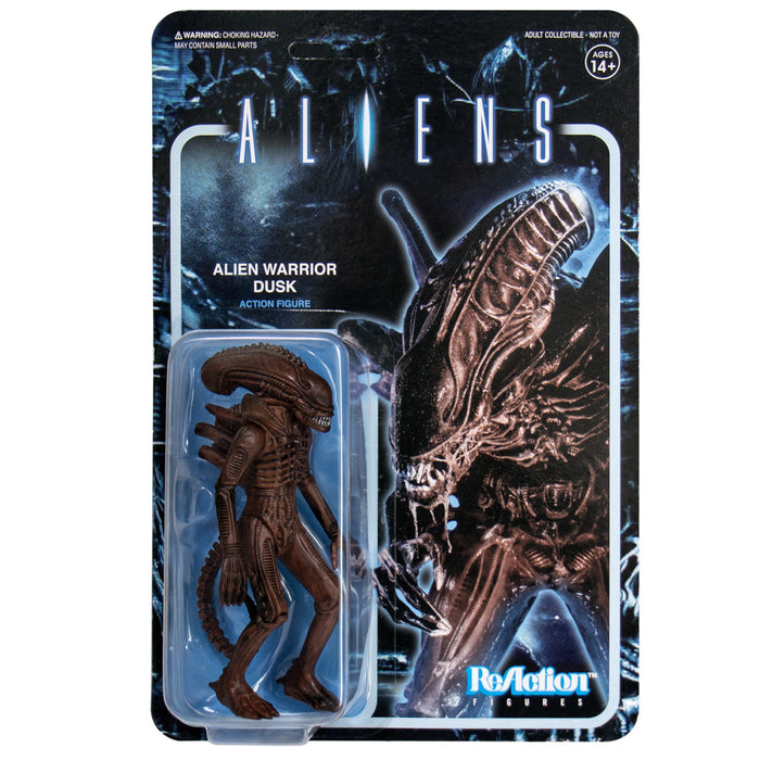 "Super7 Aliens ReAction Alien Warrior B Dusk Brown 3.75"" Action Figure"