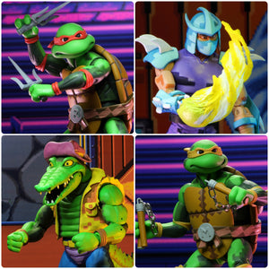 NECA Teenage Mutant Ninja Turtles Turtles in Time Series 2 Set of 4 7 Inch Action Figures PRE-ORDER / FREE SHIPPING