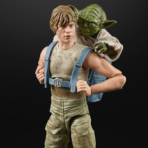 Star Wars The Black Series Luke Skywalker Dagobah & Yoda 6 Inch Action Figure 2 pack