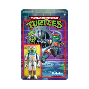 Super7 ReAction TMNT wave 2 Space Cadet Raphael 3.75 Inch Action Figure
