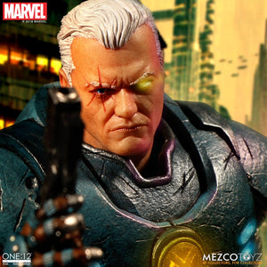 Mezco Toyz One:12 Collective Marvel Comics Cable Action Figure FREE SHIPPING