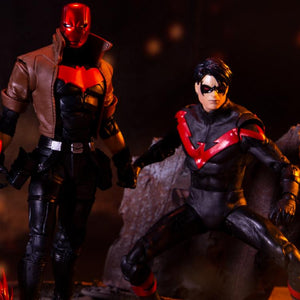 DC Multiverse Red Hood vs Nightwing 6 Inch Action Figure 2-Pack