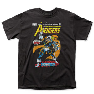 Marvel Comics The Avengers Taskmaster Fitted Black T-Shirt