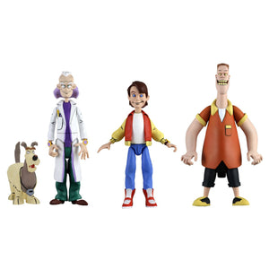 NECA Back to the Future Toony Classics 6 Inch Figure Set of 3
