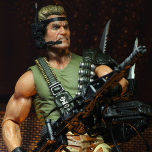 NECA Aliens Space Marine Kenner Tribute Drake 7 Inch Scale Action Figure