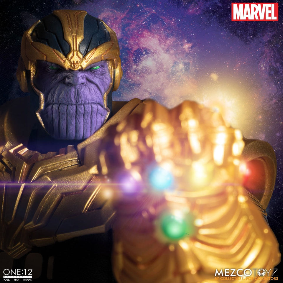 Mezco Toyz One:12 Collective Marvel Comics Thanos Action Figure FREE SHIPPING / PRE-ORDER