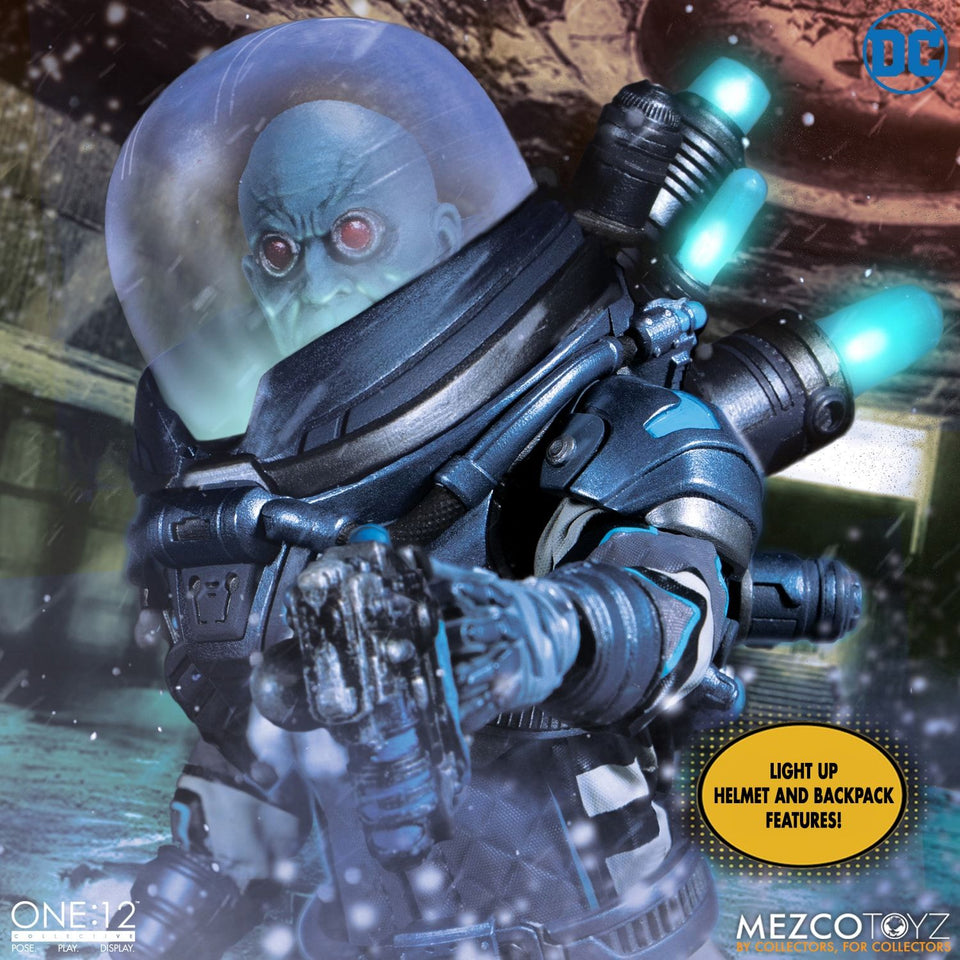 Mezco Toyz One:12 Collective DC Comics Mr. Freeze Deluxe Edition Action Figure FREE SHIPPING / PRE-ORDER