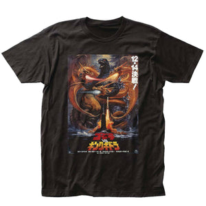 Previews Exclusive Godzilla King Ghidorah vs Godzilla T-Shirt