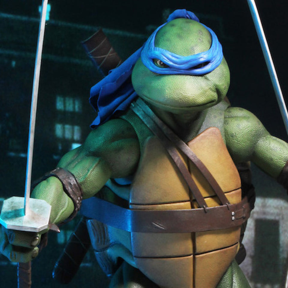 NECA Teenage Mutant Ninja Turtles Leonardo 1/4 Scale Action Figure FREE-SHIPPING / PRE-ORDER