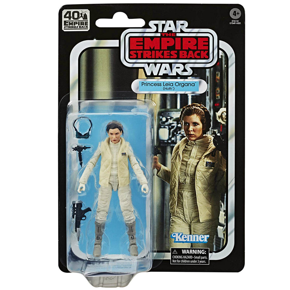 Star Wars The Black Series 40th Anniversary ESB Princess Leia Hoth 6 Inch Action Figure
