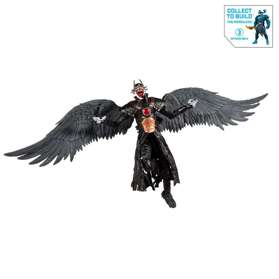 DC Dark Multiverse Batman Who Laughs with Sky Tyrant Wings 6 Inch Action Figure PRE-ORDER