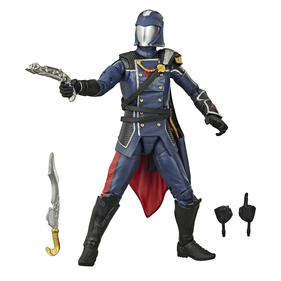 GI JOE Classified Collection Cobra Commander 6 Inch Action Figure