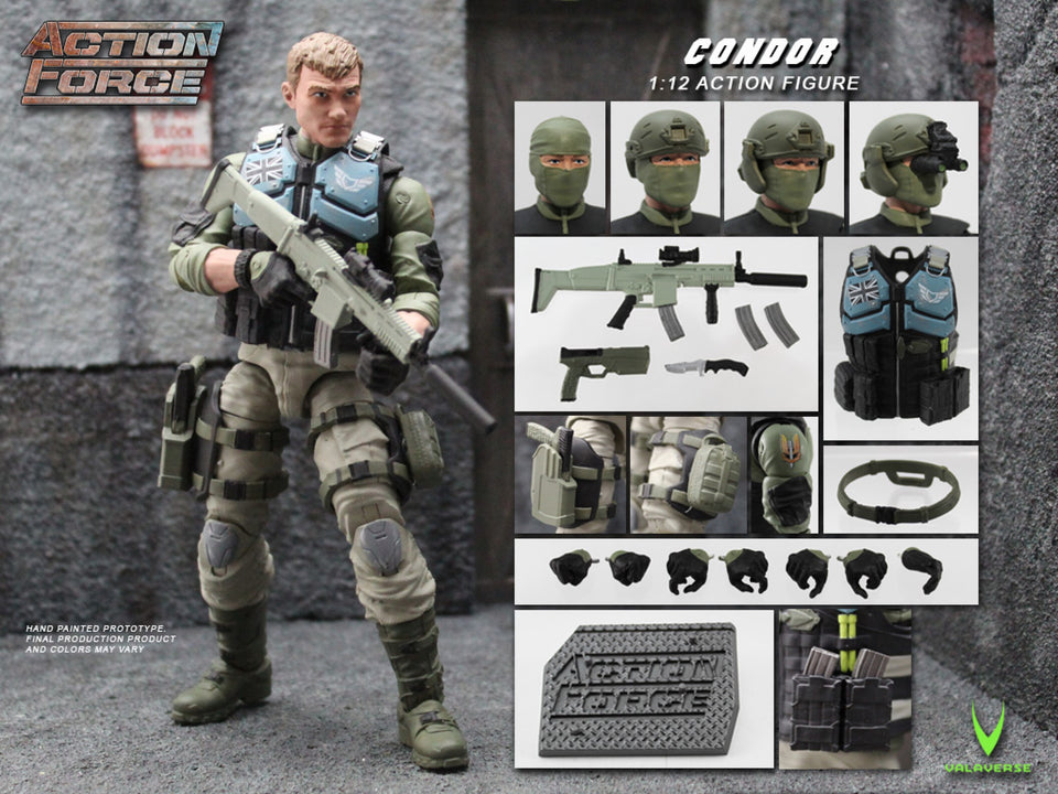 Action Force Condor 6 Inch Action Figure PRE-ORDER