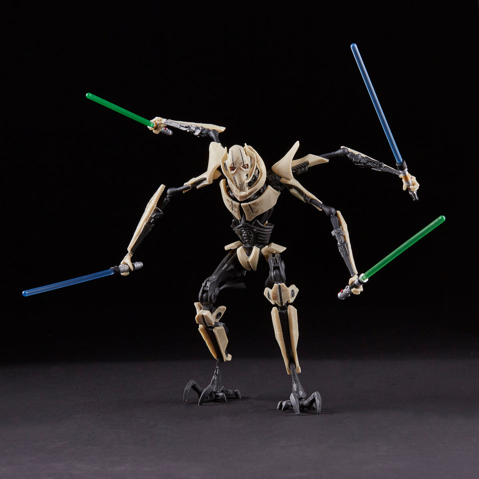Star Wars The Black Series Exclusive General Grievous 6 Inch Action Figure PRE-ORDER