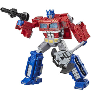 Transformers Siege War For Cybertron Trilogy Voyager Class Optimus Prime Figure