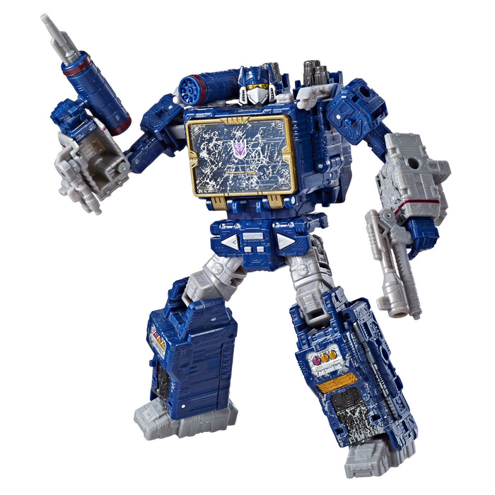 Transformers War For Cybertron Siege Voyager Class WFC-S25 Soundwave Action Figure