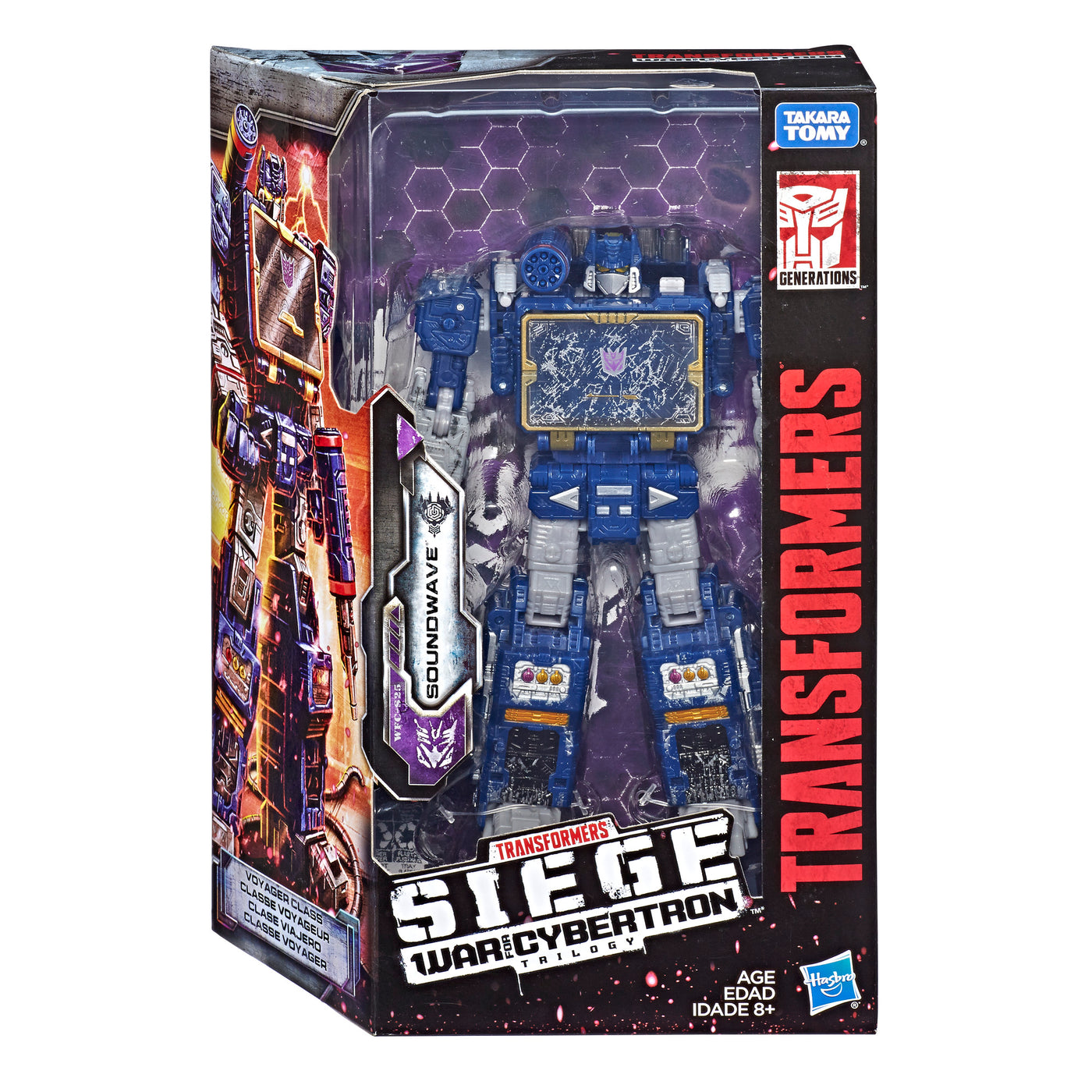 Transformers Generations SOUNDWAVE Fall Of Cybertron Decepticon Robot Toy