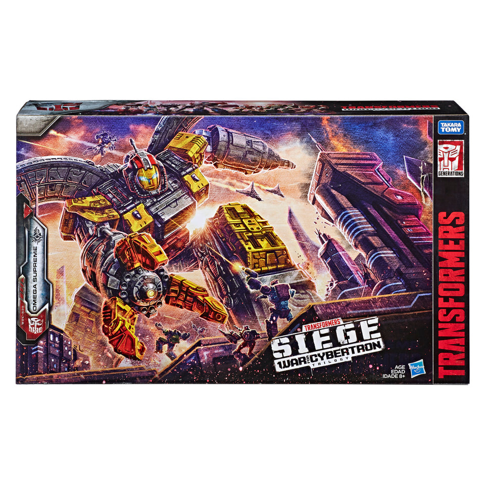 Transformers WFC Siege Titan Class WFC-S29 Omega Supreme Action Figure - FREE SHIPPING / PRE-ORDER