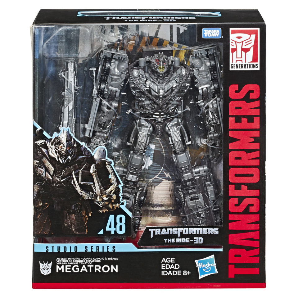 Transformers Studio Series Exclusive Leader Class Megatron Action Figure PRE-ORDER