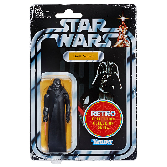 Star Wars The Retro Collection Darth Vader 3.75 Inch Action Figure