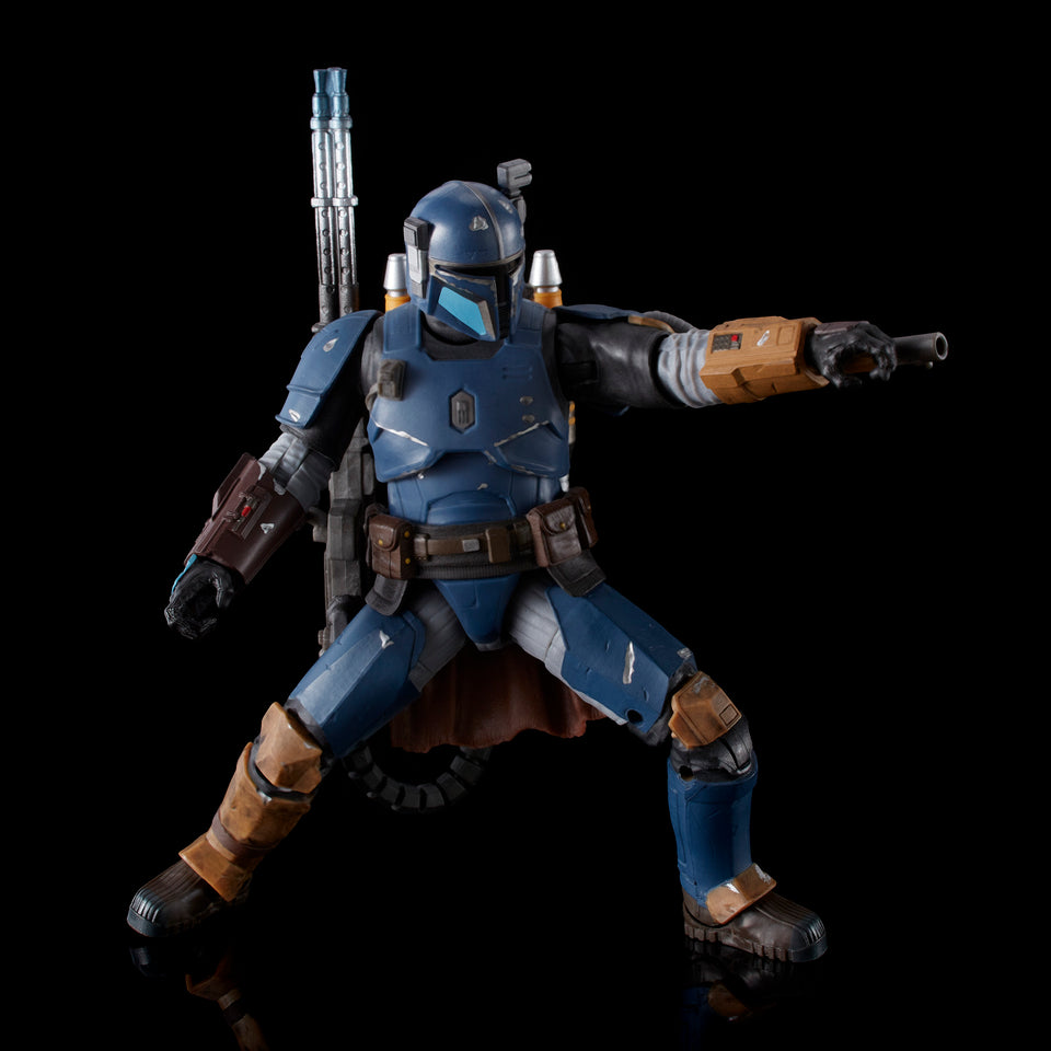 Star Wars The Black Series Deluxe Heavy Infantry Mandalorian 6 Inch Action Figure