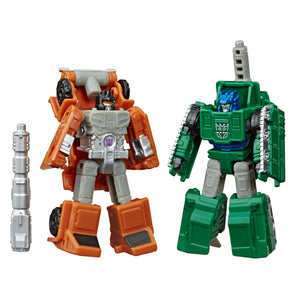 Transformers War for Cybertron Earthrise Micromaster Military 2 Pack Bombshock & Growl Action Figures