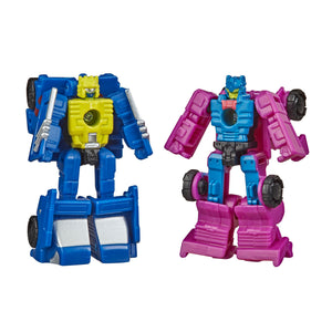 Transformers War for Cybertron Earthrise Micromaster 2 Pack Ground Hog & Roller Force Action Figures