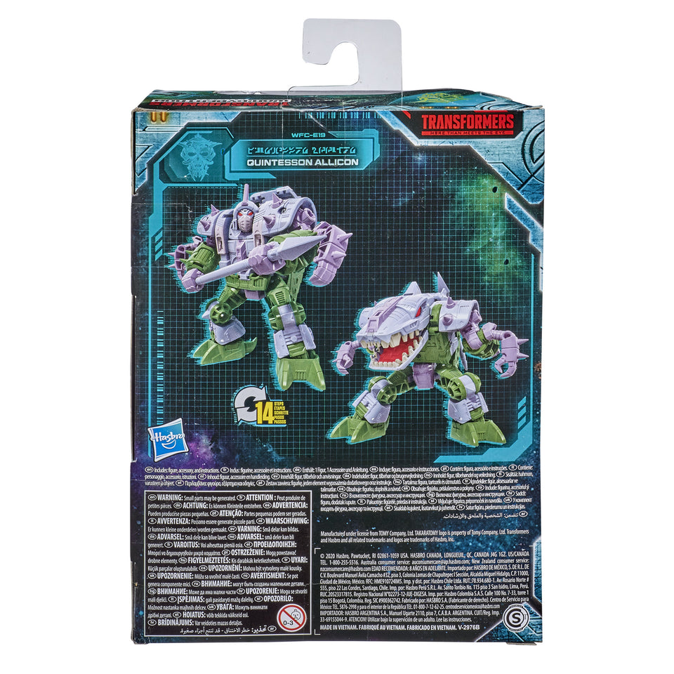 Transformers War For Cybertron Earthrise Deluxe Class WFC-E19 Quintesson Allicon Action Figure PRE-ORDER