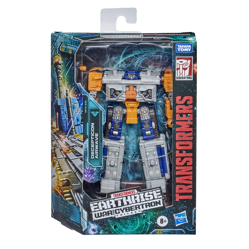 Transformers War For Cybertron Earthrise Deluxe Class Airwave Action Figure PRE-ORDER