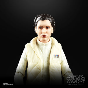 Star Wars The Black Series 40th Anniversary ESB Princess Leia Hoth 6 Inch Action Figure PRE-ORDER