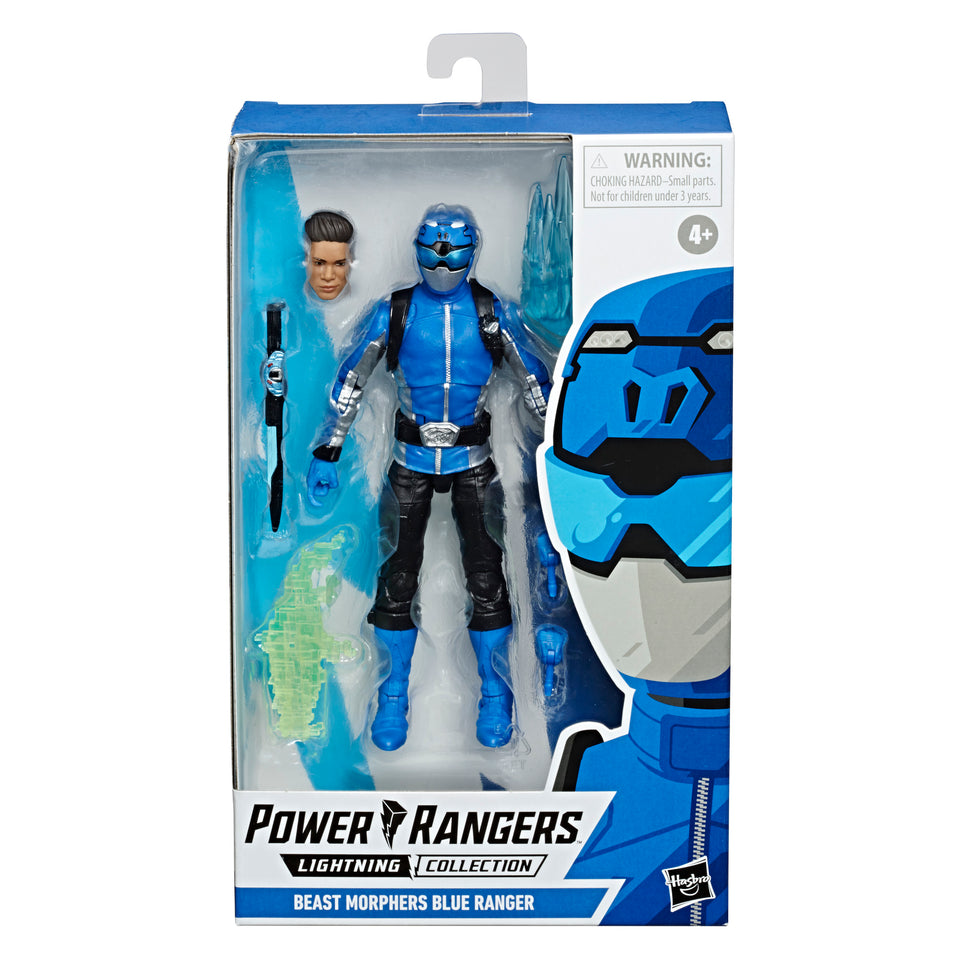 Power Rangers Lightning Collection Beast Morphers Blue Ranger 6