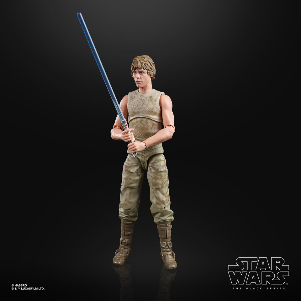 Star Wars The Black Series The Empire Strikes Back 40th Luke Skywalker Dagobah 6 Inch  Action Figure