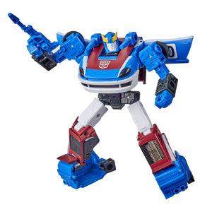 Transformers War For Cybertron Earthrise Deluxe Class  WFC-E20 Smokescreen Action Figure