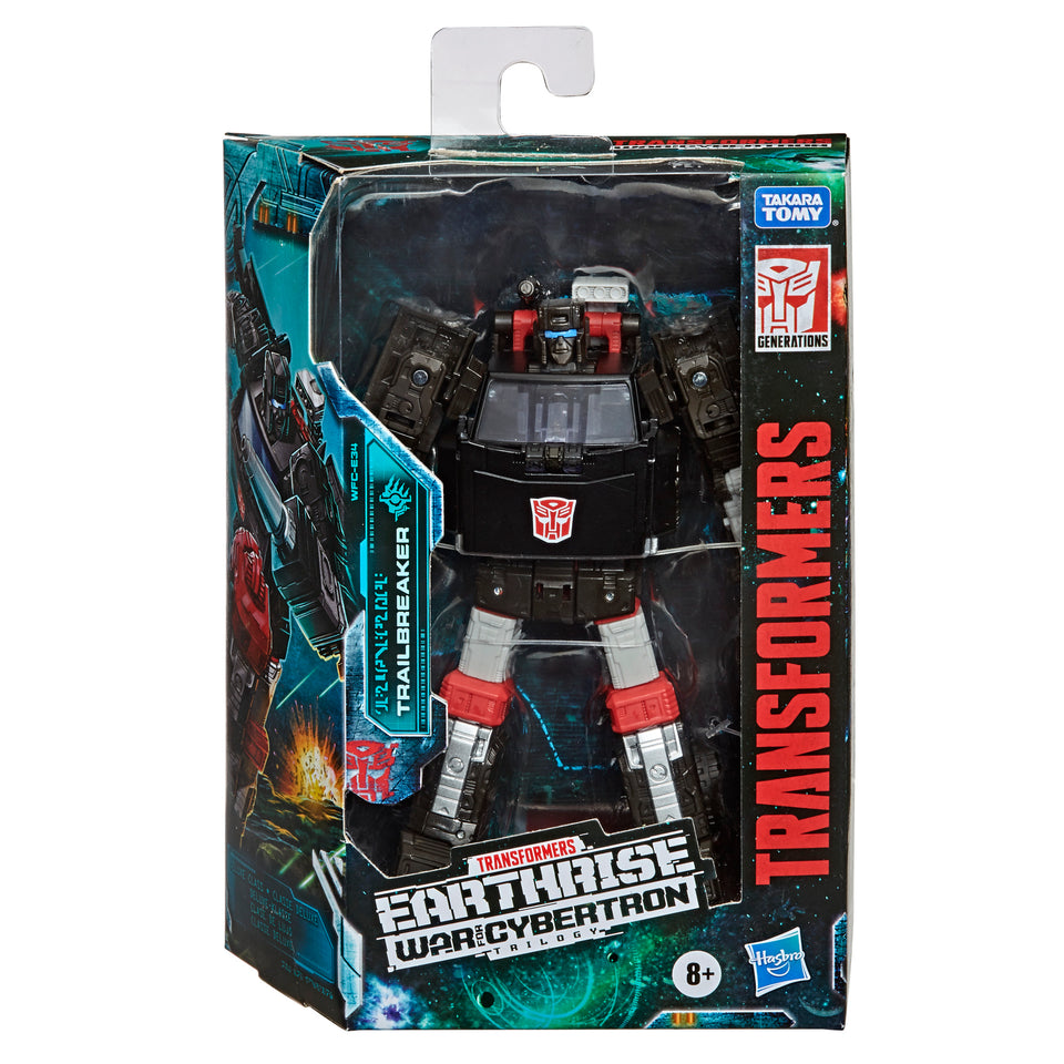 Transformers War For Cybertron Earthrise Deluxe Class Trailbreaker Action Figure PRE-ORDER