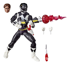 Power Rangers Lightning Collection Mighty Morphin Black Ranger 6 Inch Action Figure PRE-ORDER