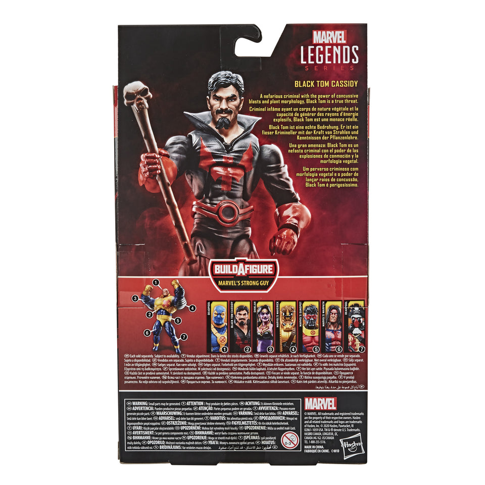 Marvel Legends Deadpool Strong Guy Wave Black Tom Cassidy 6 inch Action Figure