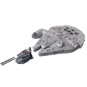 Star Wars Mission Fleet Han Solo Millennium Falcon 2.5 Inch Figure & Vehicle PRE-ORDER